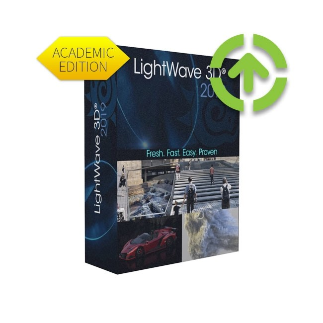Lightwave 3D 2019 (Academic, Upgrade, Add One Seat) ESD