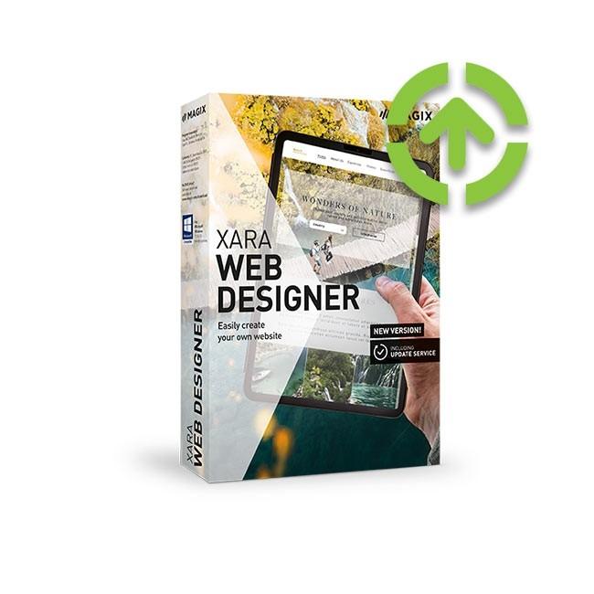 Magix Web Designer 18 (Upgrade from Previous Version) ESD
