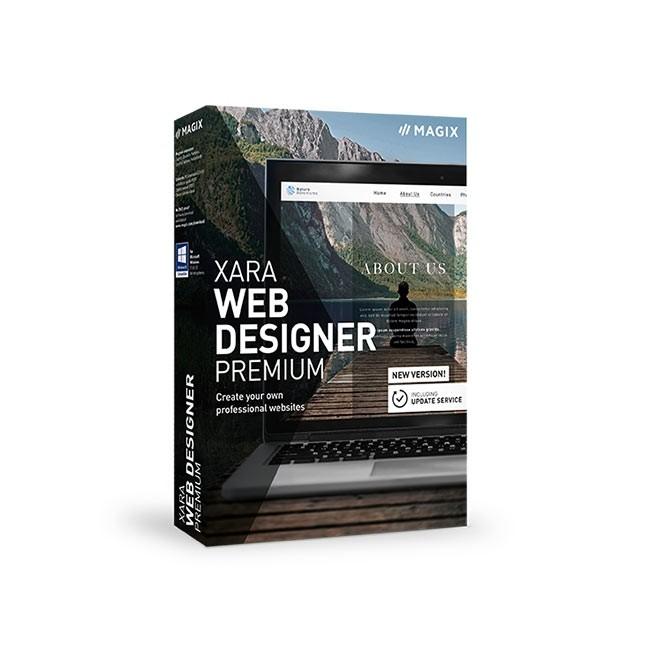 Magix Web Designer 18 Premium ESD