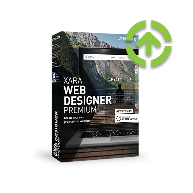 Magix Web Designer 18 Premium (Upgrade from Previous Version) ESD