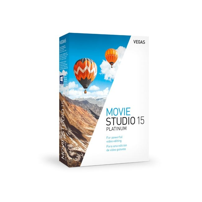 Magix VEGAS Movie Studio 15 Platinum ESD