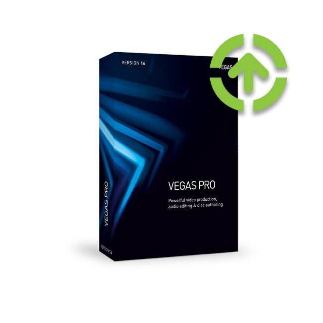 Magix Vegas Pro 16 (Upgrade from older Version) ESD