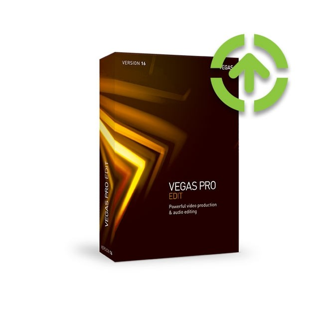 Magix Vegas Pro 16 Edit (Upgrade from older Version) ESD