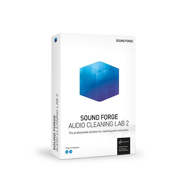 Magix Sound Forge Audio Cleaning Lab 2 ESD