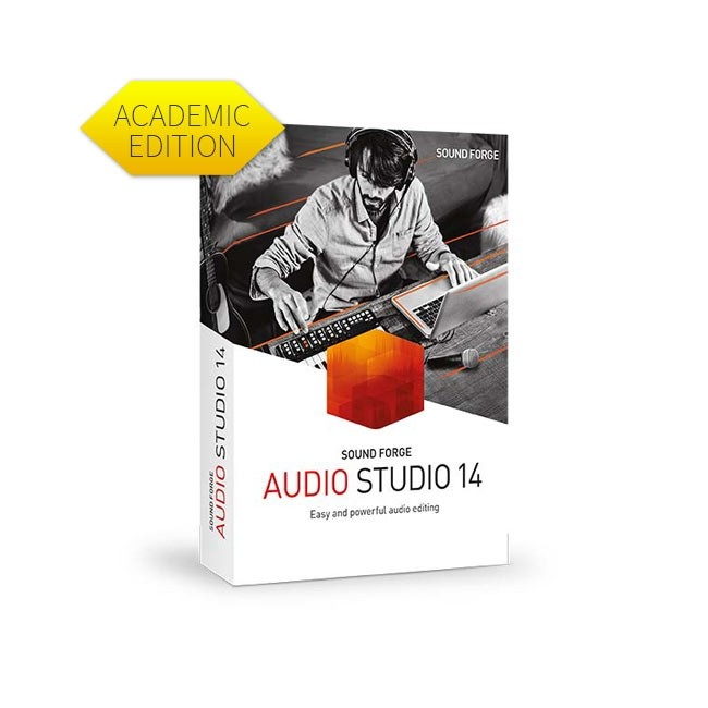 Magix Sound Forge Audio Studio 14 - Academic ESD