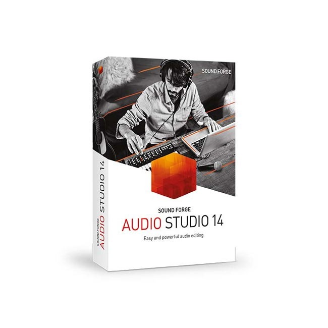 Magix Sound Forge Audio Studio 14 ESD