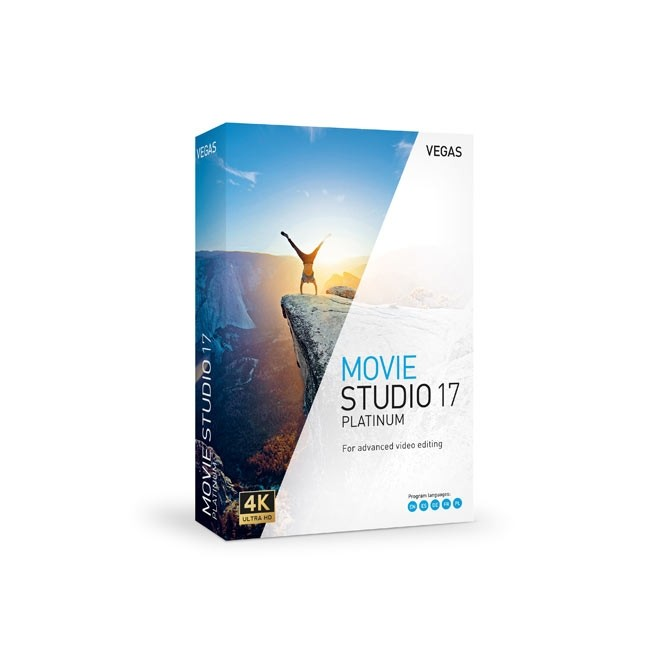 Magix VEGAS Movie Studio 17 Platinum ESD