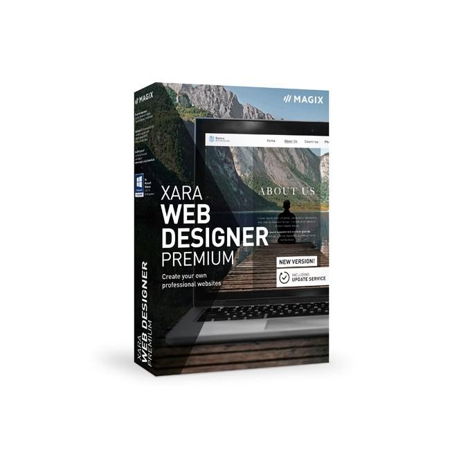 Magix Xara Web Designer 17 Premium ESD