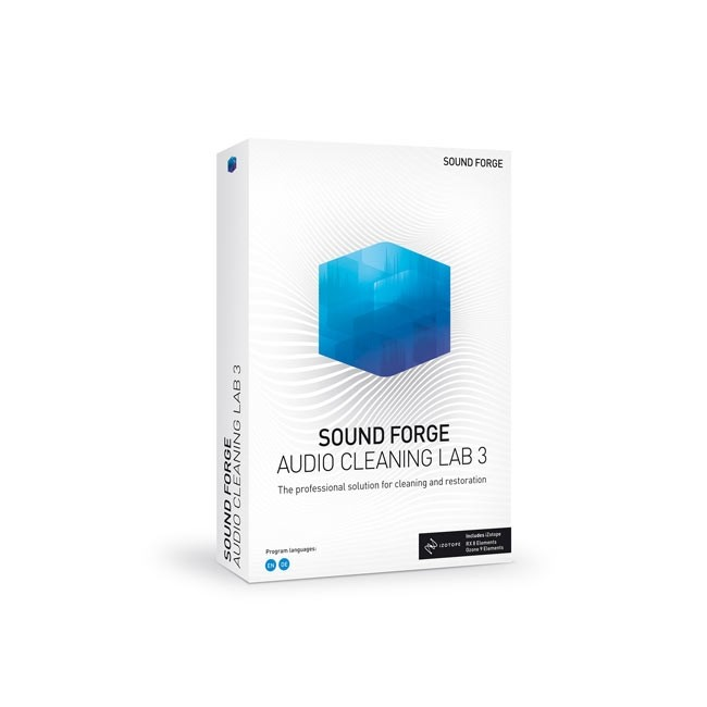 Magix Sound Forge Audio Cleaning Lab 3 ESD