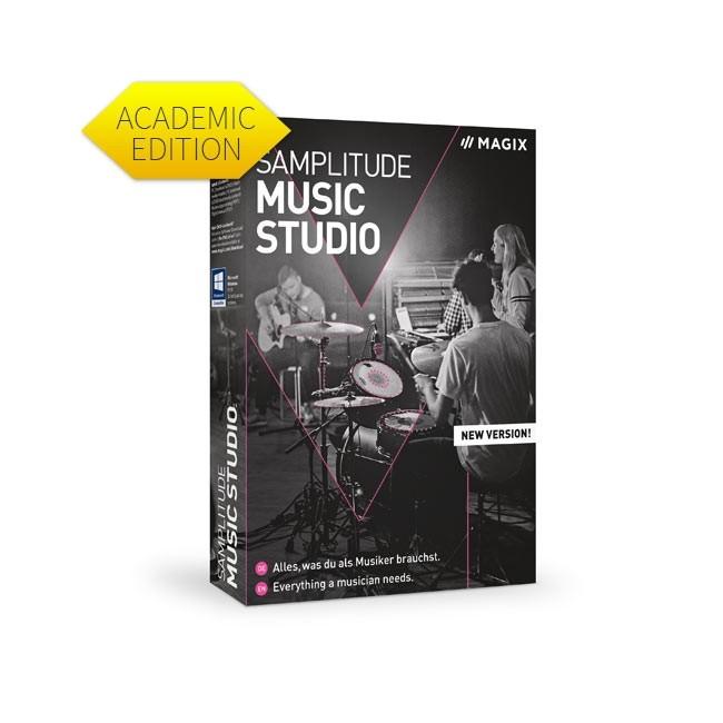 Magix Samplitude Music Studio 2021 (Academic) ESD