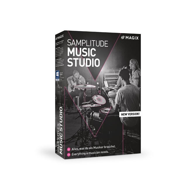Magix Samplitude Music Studio 2021 ESD