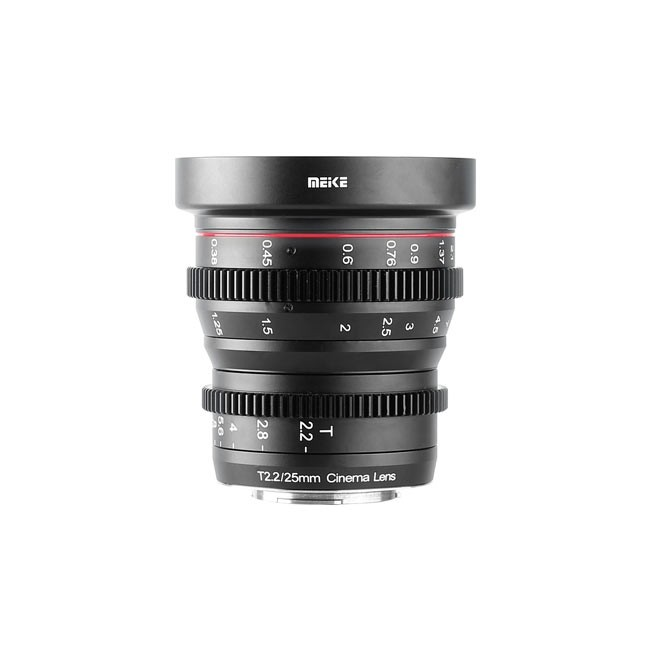 Meike Cinema Prime 25mm T2.2 M4/3 Lens