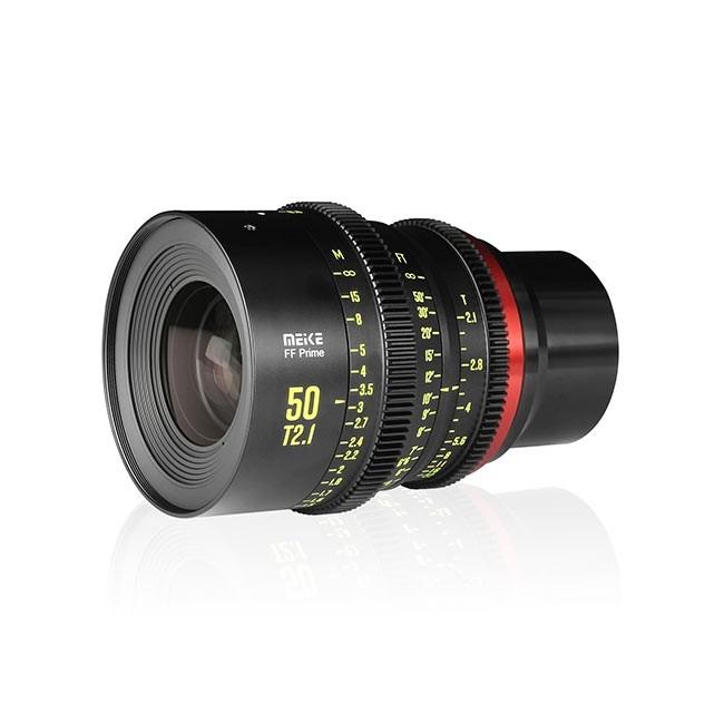 Meike Cinema Full Frame Cinema Prime 50mm T2.1 Sony E Lens