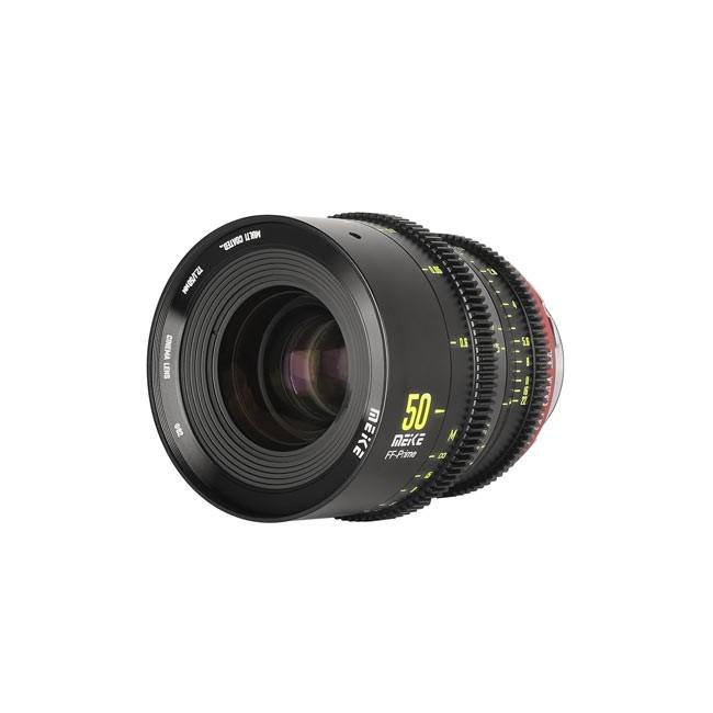 Meike Cinema Full Frame Cinema Prime 50mm T2.1 PL Lens