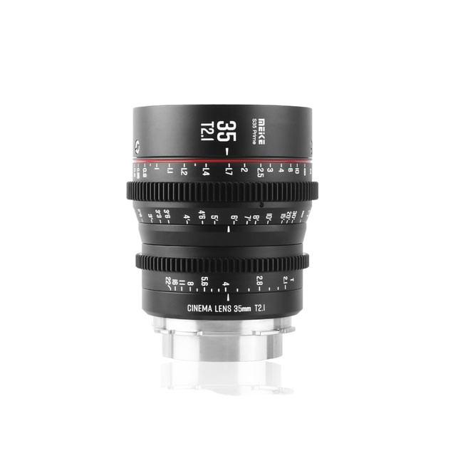 Meike Cinema Super35 Cinema Prime 35mm T2.1 EF Lens