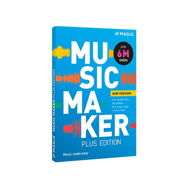 Magix Music Maker 2022 Plus Edition ESD