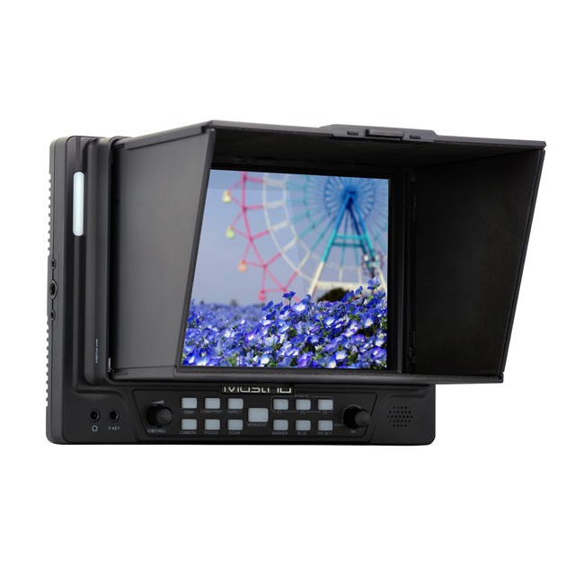 "MustHD 7"" LCD HDMI On-camera Field Monitor with Focus Assist and Color Peaking"