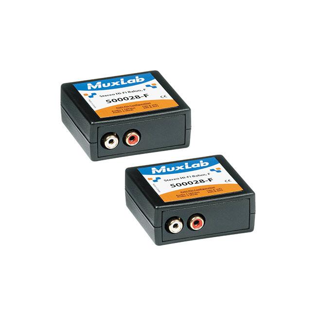 MuxLab Stereo Hi-Fi Balun (Female, 2-Pack)