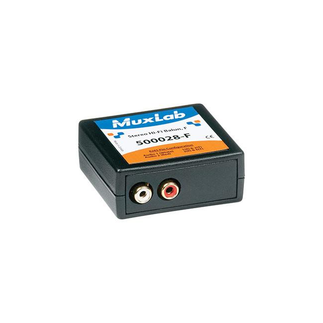 MuxLab Stereo Hi-Fi Balun (Female)