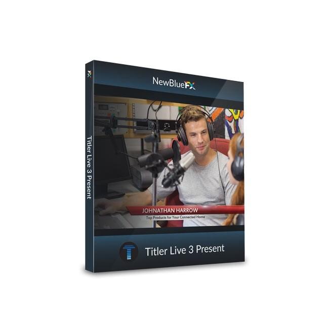 NewBlue Titler Live 3 Present ESD