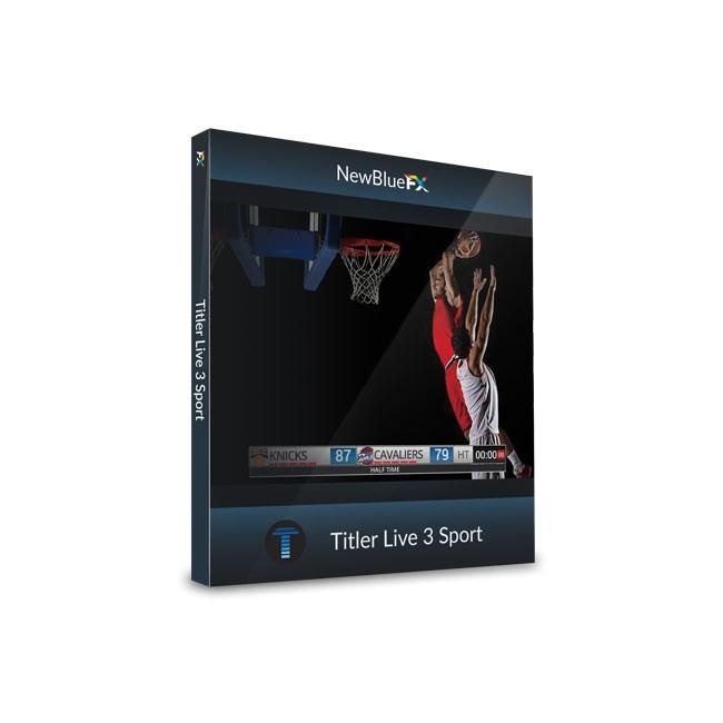 NewBlue Titler Live 3 Sport ESD