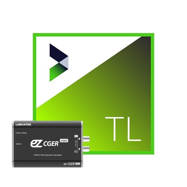 NewBlue Titler Live 4 Broadcast & Lumantek ez-CGER mini Bundle