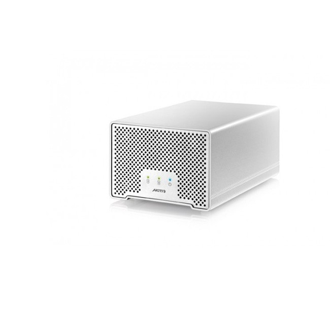 AKiTiO Neutrino Thunder D3 (Enclosure Only - Includes Thunderbolt and USB Cables)