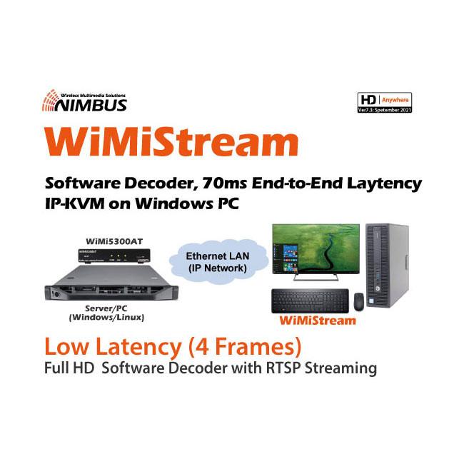 Nimbus WiMiStream - Low-latency PC Software Decoder