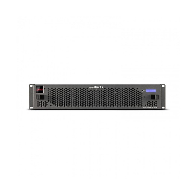 Blackmagic OpenGear - 21 Slot Frame with Cooling Fans, Basic Networking and Power Supply (1 Slot Dedicated to Optional Full Network Controller Card)