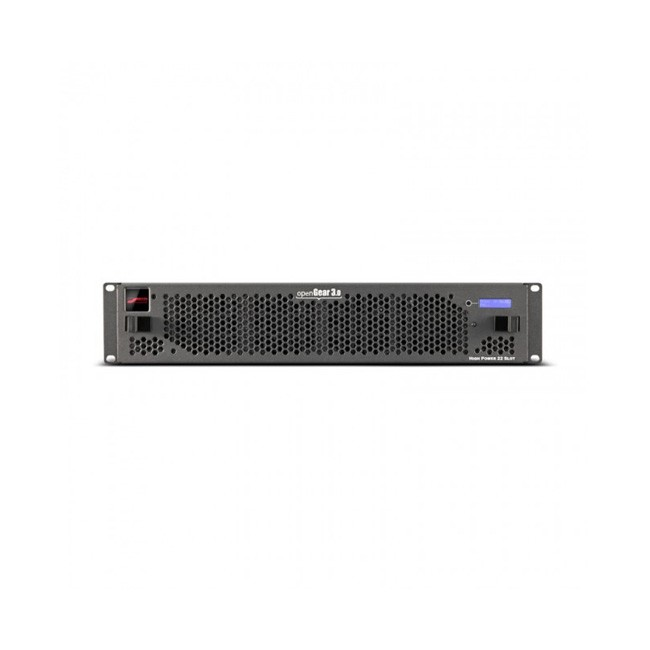 Blackmagic Design OpenGear - 21 Slot Frame with Cooling Fans, Full Networking and Power Supply (1 Slot Dedicated to Full Network Controller Card)
