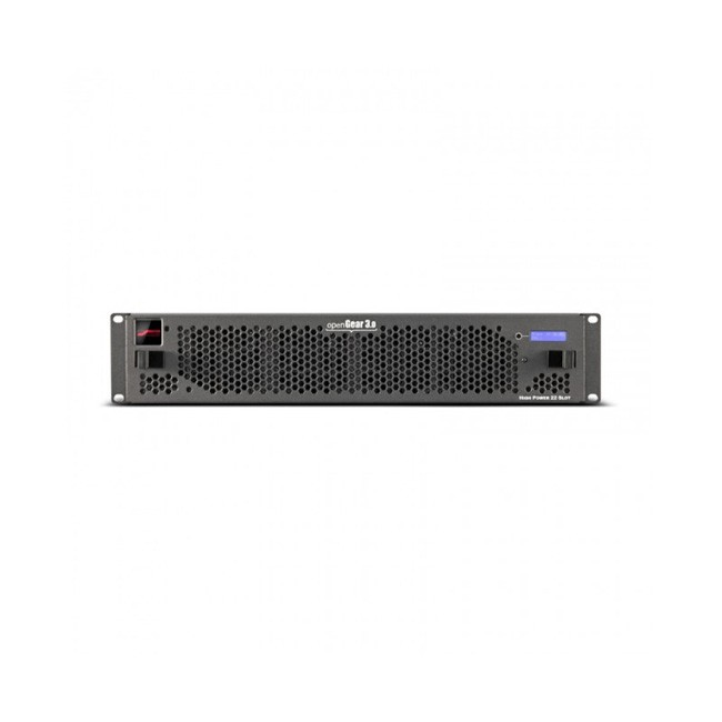 Blackmagic OpenGear - 21 Slot Frame with Cooling Fans, Full Networking, SNMP and Power Supply (1 Slot Dedicated to Full Network Card)