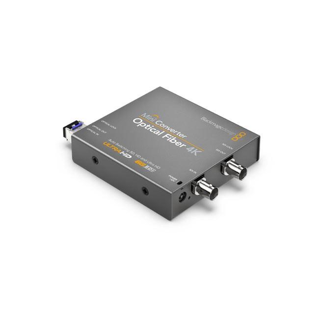 Blackmagic Mini Converter - Optical Fiber 4K