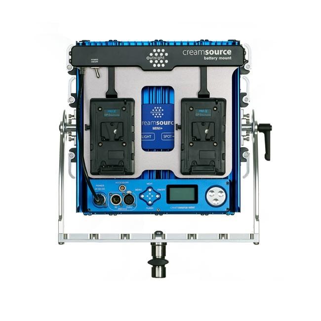 Outsight Creamsource Mini Battery Mount V Lock Style