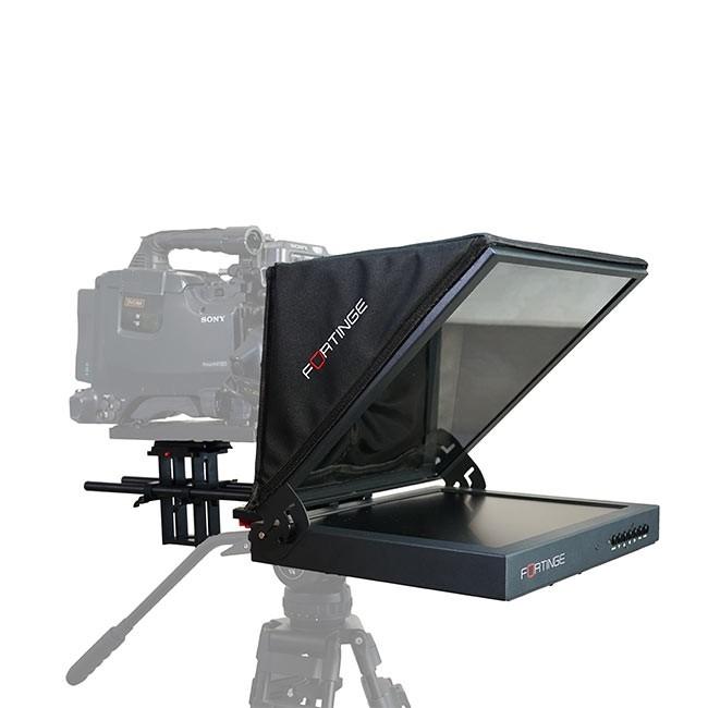 Fortinge PROS17 17'' Studio Prompter Set with HDMI, VGA, BNC Input