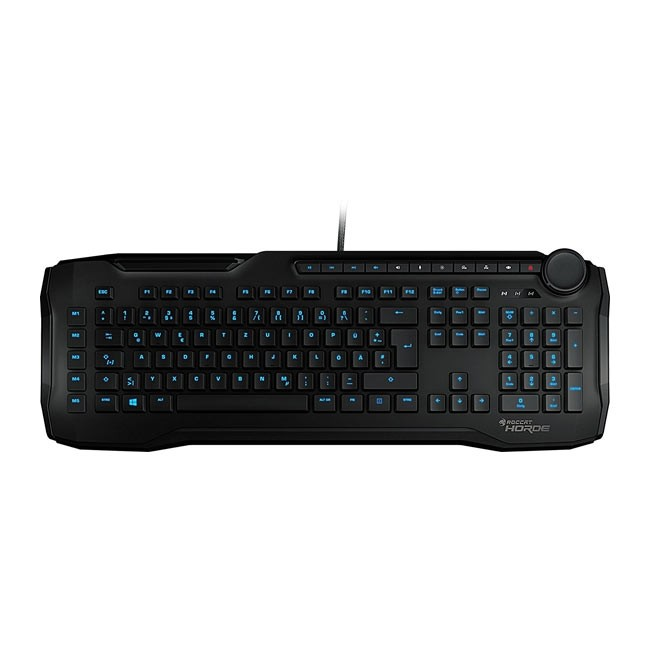 ROCCAT Horde Membrane 2.0 Gaming Keyboard (Black)