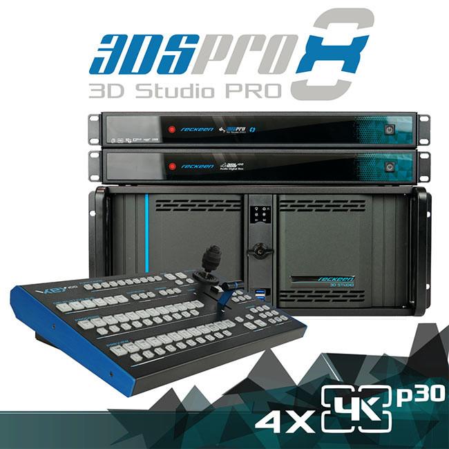Reckeen 3DS Pro X8 - 4K Virtual Studio Workstation