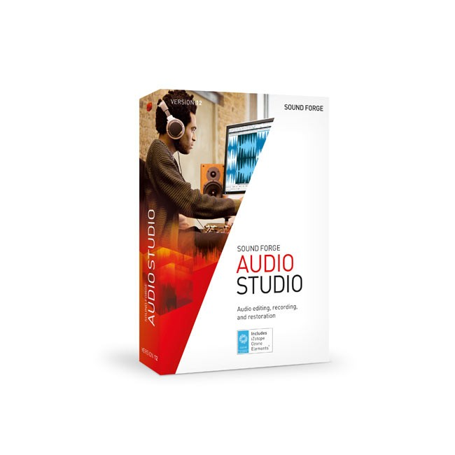 Magix Sound Forge Audio Studio 12 ESD