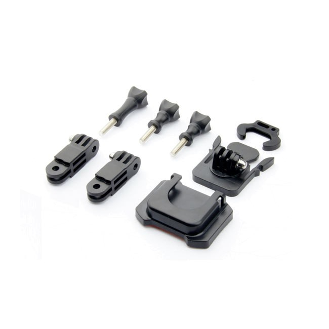 Sincecam Adjustable Curved Helmet Side Mount Set