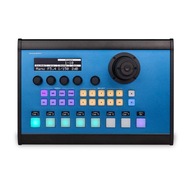 SKAARHOJ PTZ Pro with HE Joystick and SDI Option