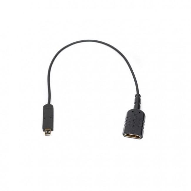 SmallHD Micro HDMI to Full HDMI (Female) Adapter Cable (8'')
