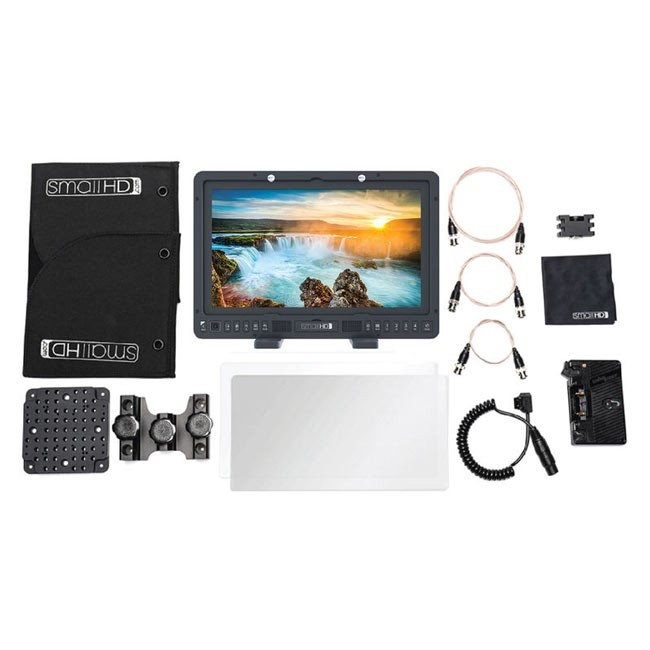 SmallHD 1703 P3X 17'' Studio Monitor Kit (Gold Mount)