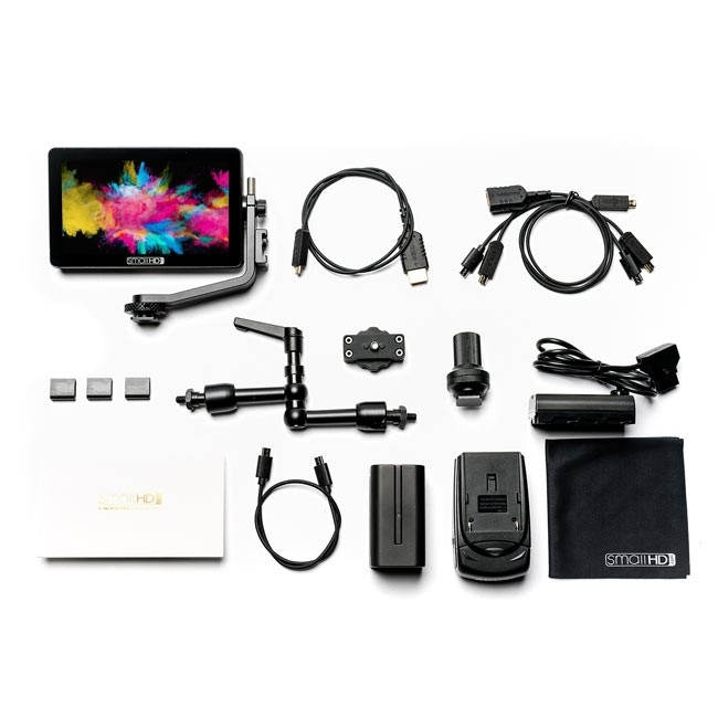 SmallHD Focus OLED Monitor (1080p) Touch Screen Cine Kit