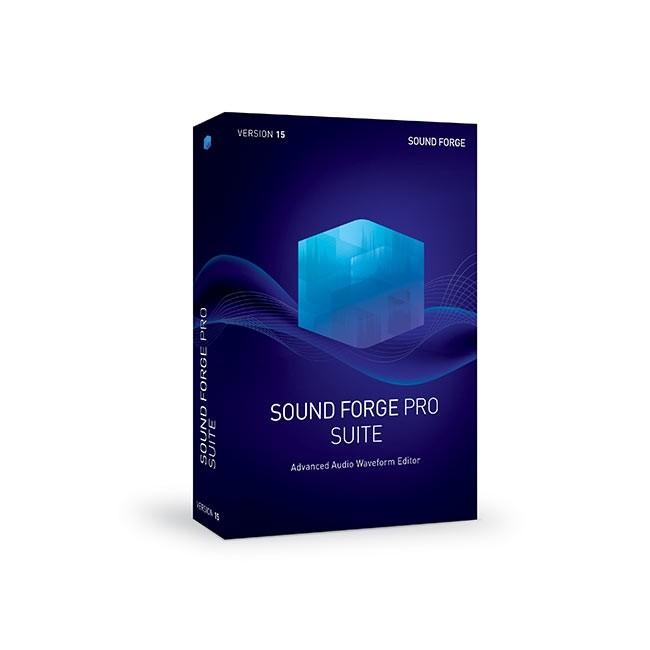 Magix SOUND FORGE Pro 15 Suite ESD
