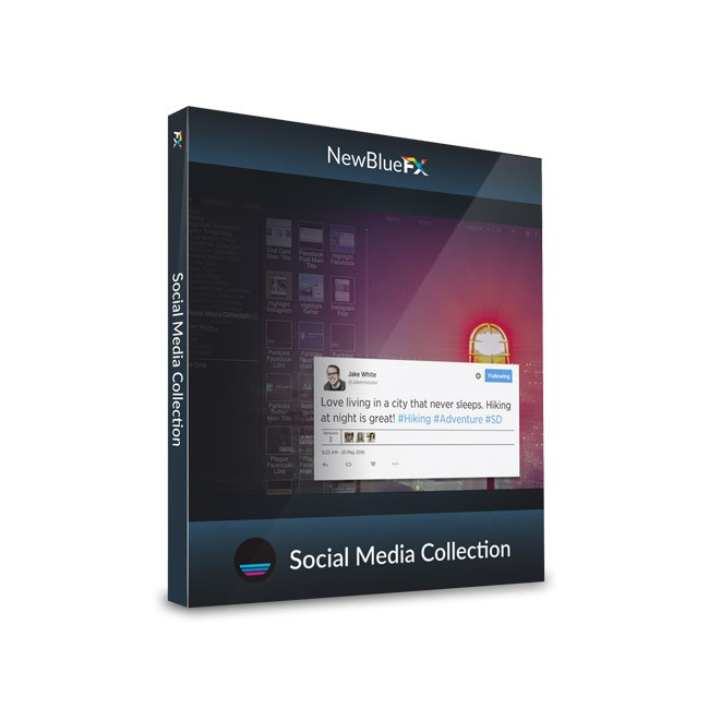 NewBlue Social Media Collection - Volume 1 ESD