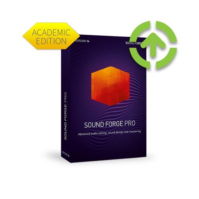 Magix SOUND FORGE Pro 14 (Upgrade, Academic) ESD