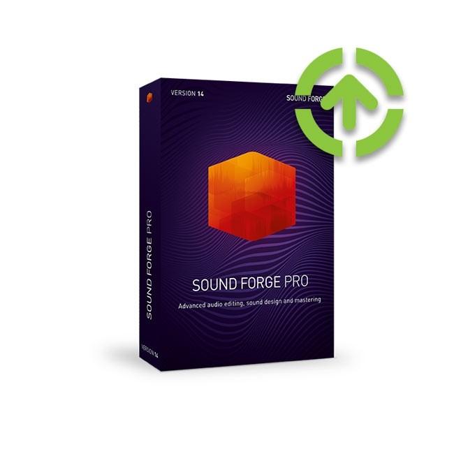 Magix SOUND FORGE Pro 14 (Upgrade) ESD