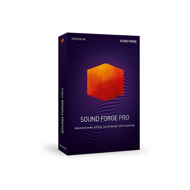 Magix SOUND FORGE Pro 14 ESD