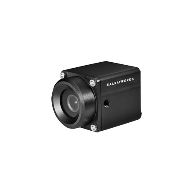 Salrayworks raySHOT 1/2.8'' Exmor R CMOS Sony IMX327 Ultra-Low Latency POV Camera (IP67, 50/60/25/30 FPS)