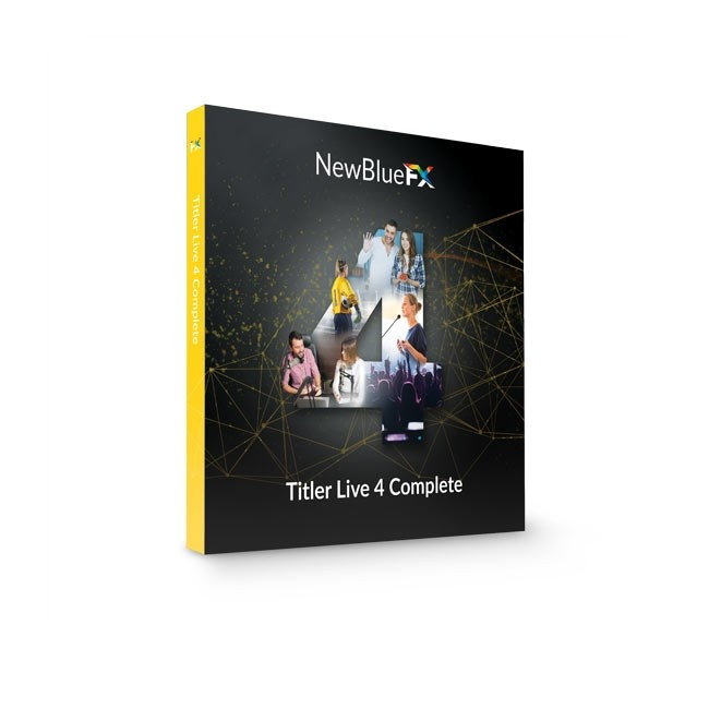 NewBlue Titler Live 4 Complete ESD