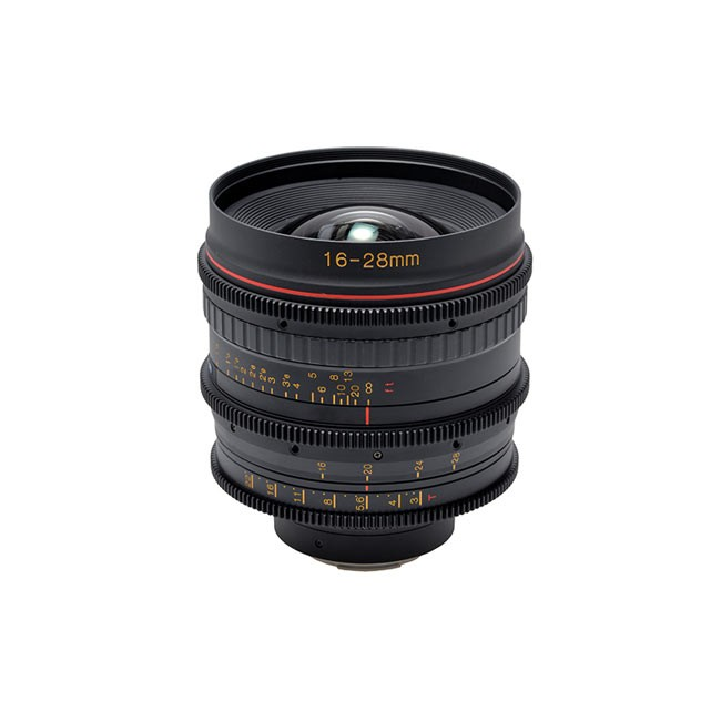 Tokina Cinema 16-28mm T3.0 with Canon EF Mount